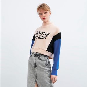Cropped Sweateshirt
